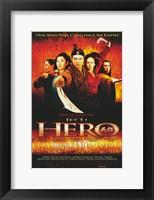 Framed Hero Jet Li Cast