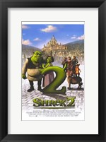 Framed Shrek 2 Castle