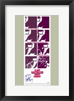 Framed Dirty Harry Purple