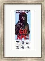 Framed Planet of the Apes Go Ape!