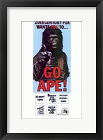 Framed Planet of the Apes Go Ape!