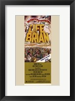 Framed Monty Python's Life of Brian Film