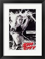 Framed Sin City Jessica Alba as Nancy