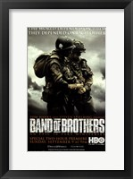 Framed Band of Brothers World Depended on Them