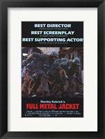 Framed Full Metal Jacket Stanley Kubrick