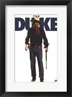 Framed John Wayne