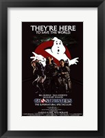 Framed Ghostbusters They're Here