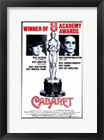 Framed Cabaret 8 Academy Awards