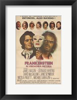 Framed Frankenstein: the True Story