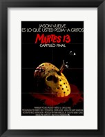 Framed Friday the 13Th Part 4 Spanish