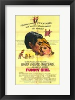 Framed Funny Girl Spanish
