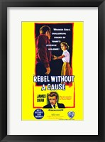 Framed Rebel Without a Cause Bright Yellow