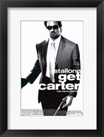 Framed Get Carter Stallone
