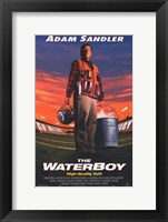 Framed Waterboy (movie poster)