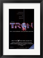 Framed Tron DVD