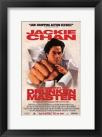 Framed Legend of Drunken Master