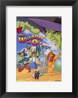 Framed Wizard of Oz (Animated)
