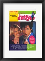 Framed Wedding Singer Sandler And Barrymore