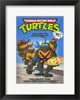 Framed Teenage Mutant Ninja Turtles Original Cartoon