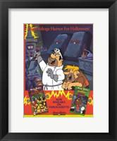 Framed Hanna Barbera Home Video