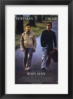 Framed Rain Man