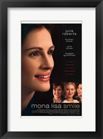 Framed Mona Lisa Smile