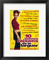 Framed Ten Things I Hate About You (French)