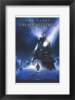 Framed Polar Express Christmas Train