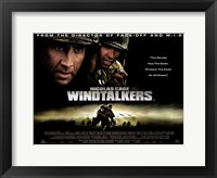 Framed Windtalkers - horizontal