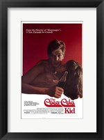 Framed Coca-Cola Kid