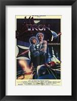 Framed Tron Futuristic