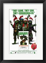 Framed Teenage Mutant Ninja Turtles 2: the Secr
