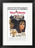 Framed Man of La Mancha Sophia Loren