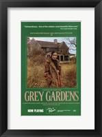 Framed Grey Gardens