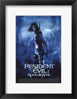 Framed Resident Evil: Apocalypse Milla Jovovich