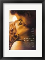 Framed English Patient - Kiss