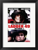 Framed Ladder 49 Every Hero Has a Destiny