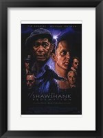 Framed Shawshank Redemption Lightning