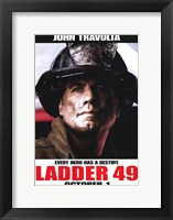 Ladder 49 John Travolta Framed Print