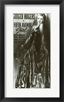 Framed Fifth Avenue Girl