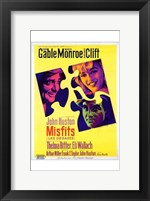 Framed Misfits John Huston