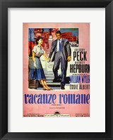 Framed Roman Holiday