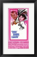 Framed My Fair Lady Tall Audrey Hepburn