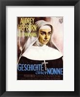 Framed Nun's Story - Audrey Hepburn