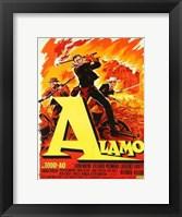 Framed Alamo Todd Ao