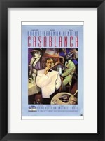 Framed Casablanca Purple