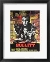 Framed Bullitt Shooting