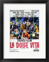 Framed La Dolce Vita Cast