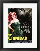 Framed Affair in Trinidad Rita Hayworth