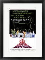 Framed Cat from Outer Space